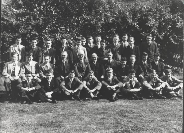 BTH Apprentices 1954 - In 1954, British Thomson-Houston built a factory at Waterloo, Larne, to manufacture blades for turbines and two years later built a turbine factory on the site.