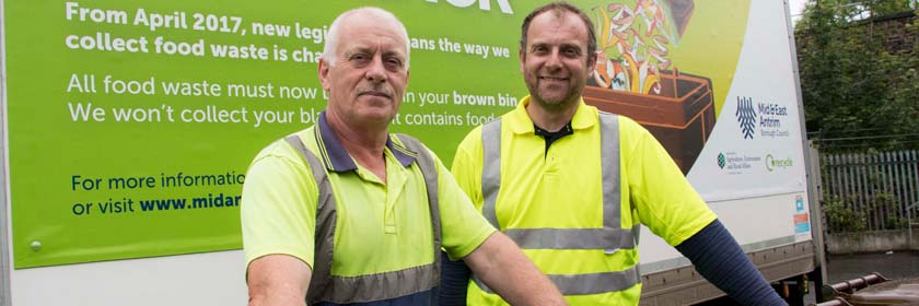 image of two council waste operations staff