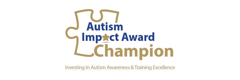 Autism Impact Award Gold Champion