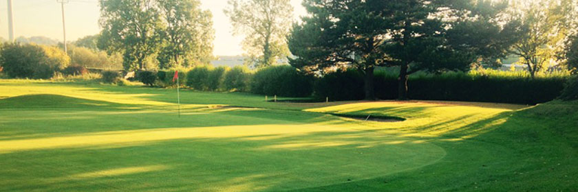 Photograph of Ballymena Golf Club green