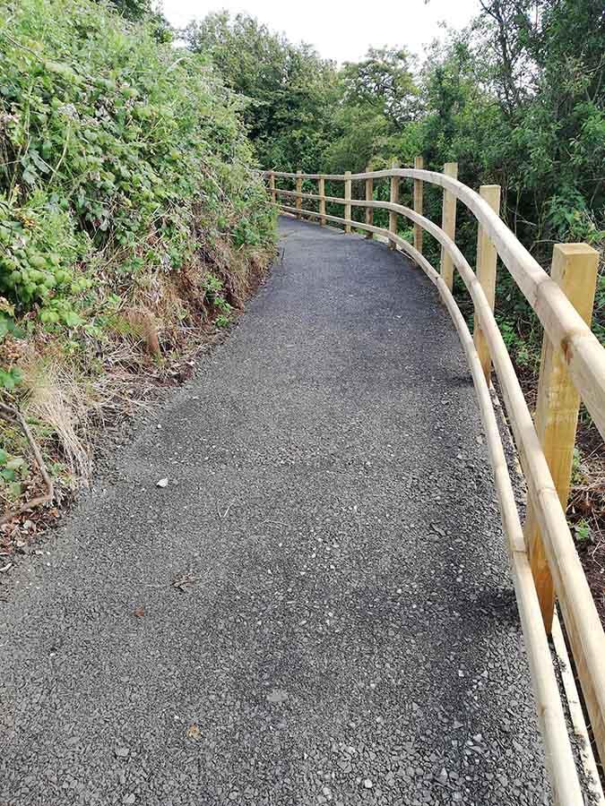 Blackhead Path works - August 2019