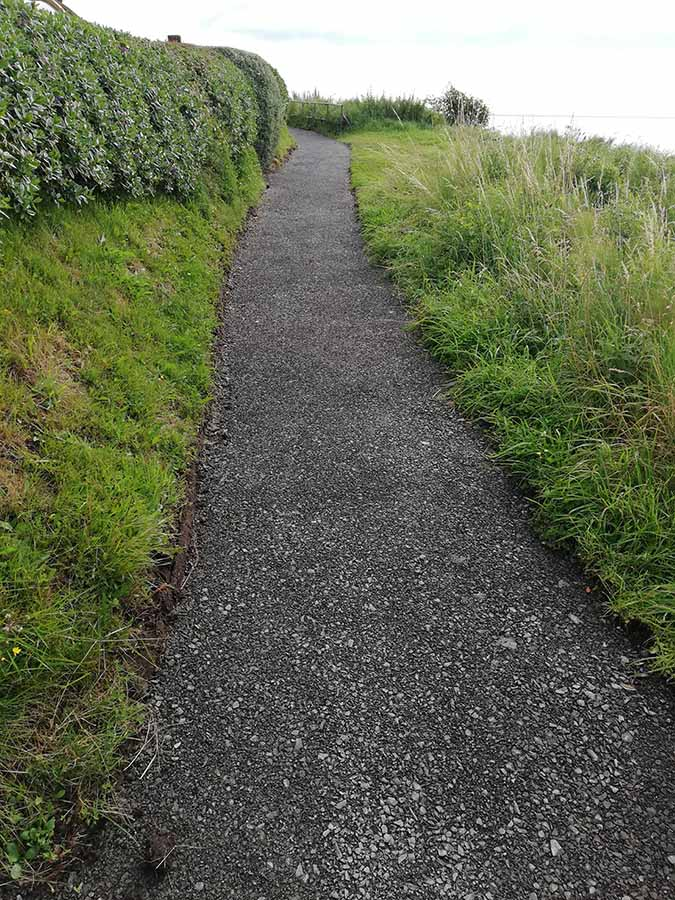 Blackhead Path works - August 2019