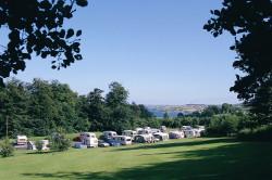 Carnfunnock Caravan Park view