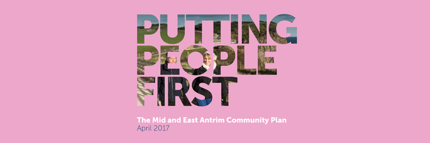 Image from the cover of the Putting People First - Community Planning - April 2017 document