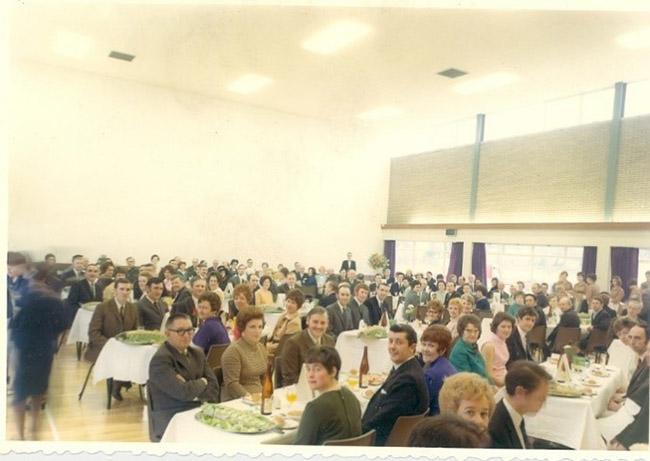 Photograph of a Staff dinner at Carreras, Carrickfergus