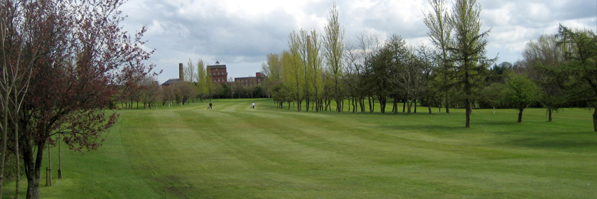 Photograph of the golf course at Carrickfergus Golf Club