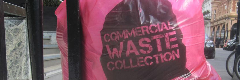 Image of a commerical waste collection bag
