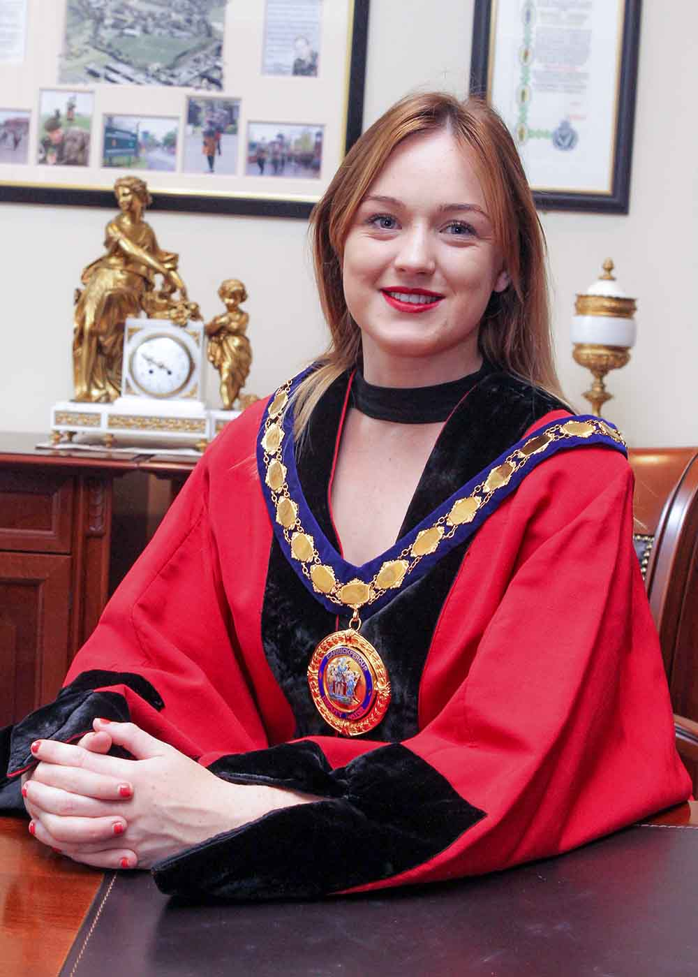 Deputy Mayor of Mid and East Antrim Borough, Councillor Cheryl Johnston