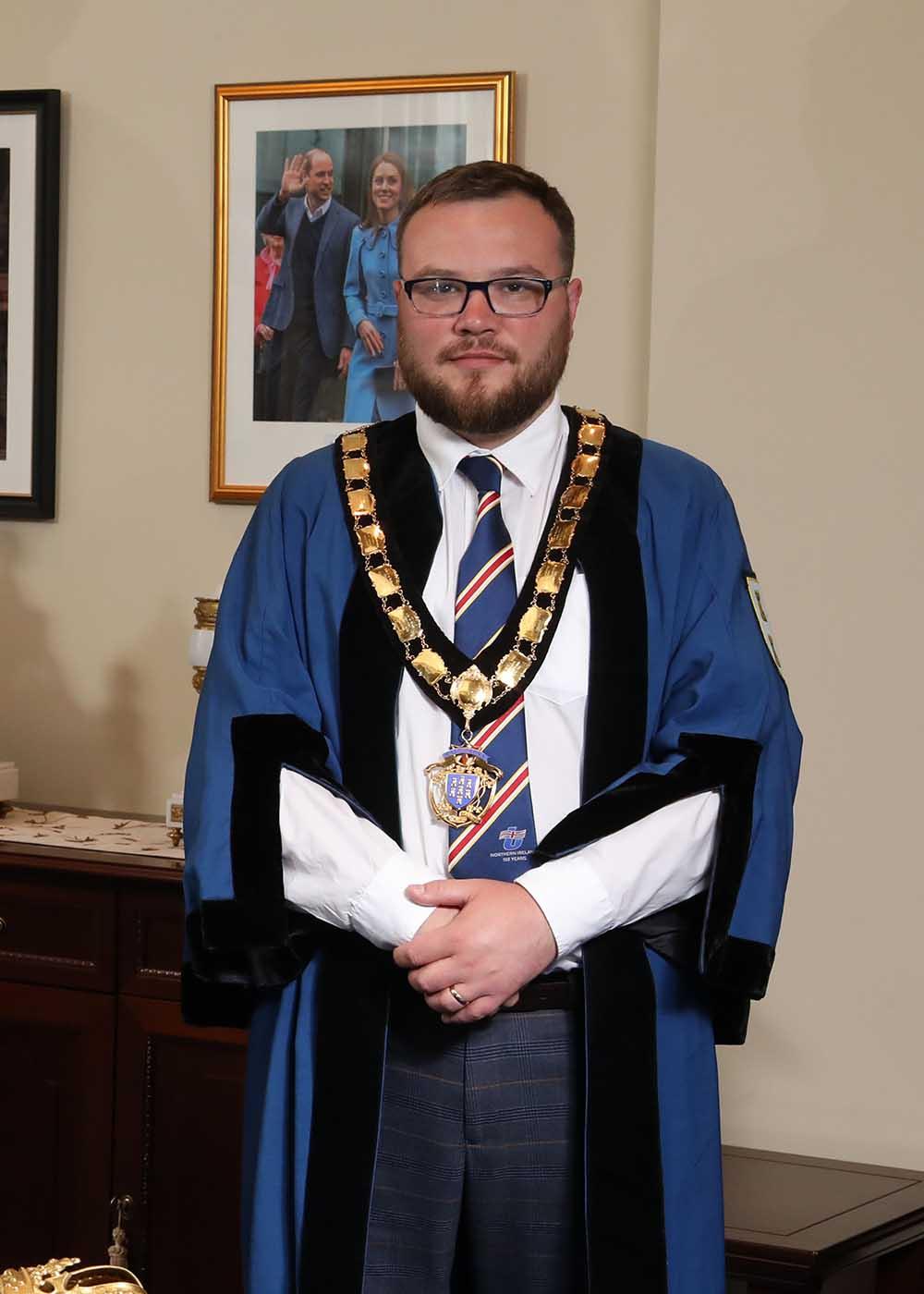 Deputy Mayor of Mid & East Antrim, Councillor Matthew Armstrong