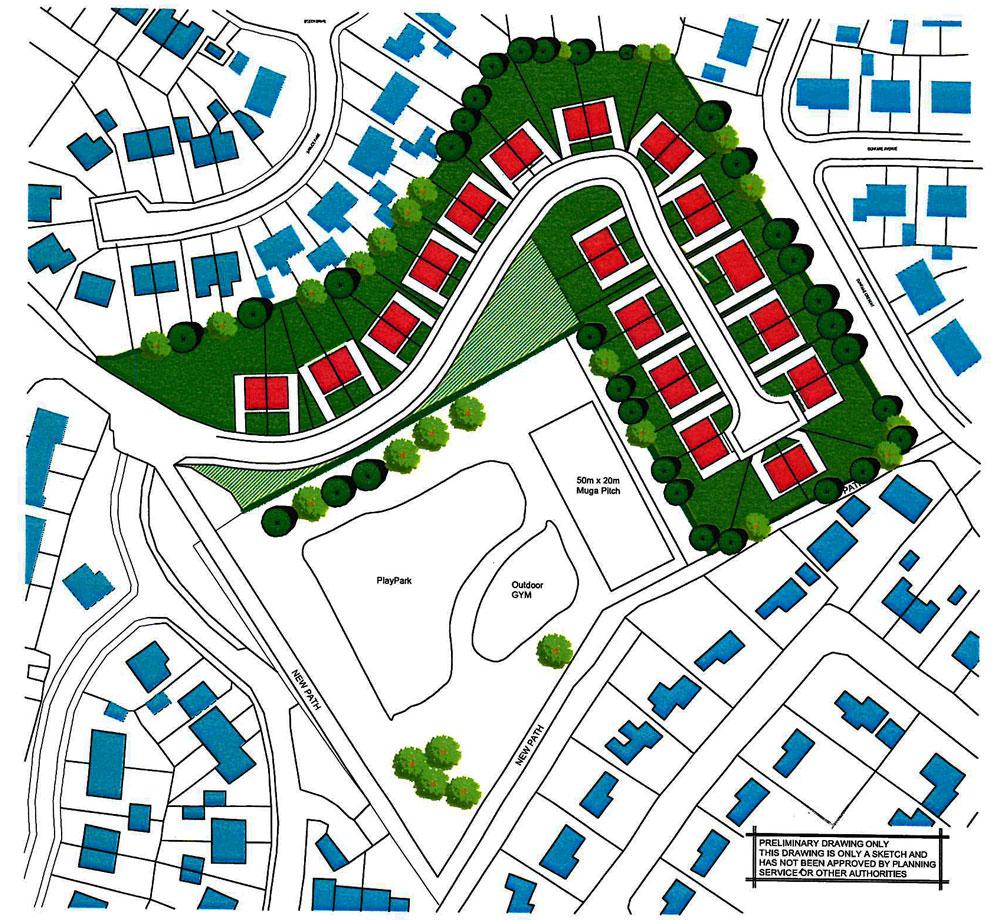 Dunfane Development Masterplan Concept image