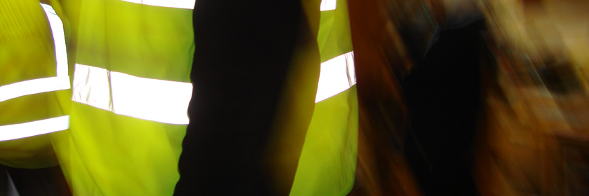 Photograph of a hi-vis jacket