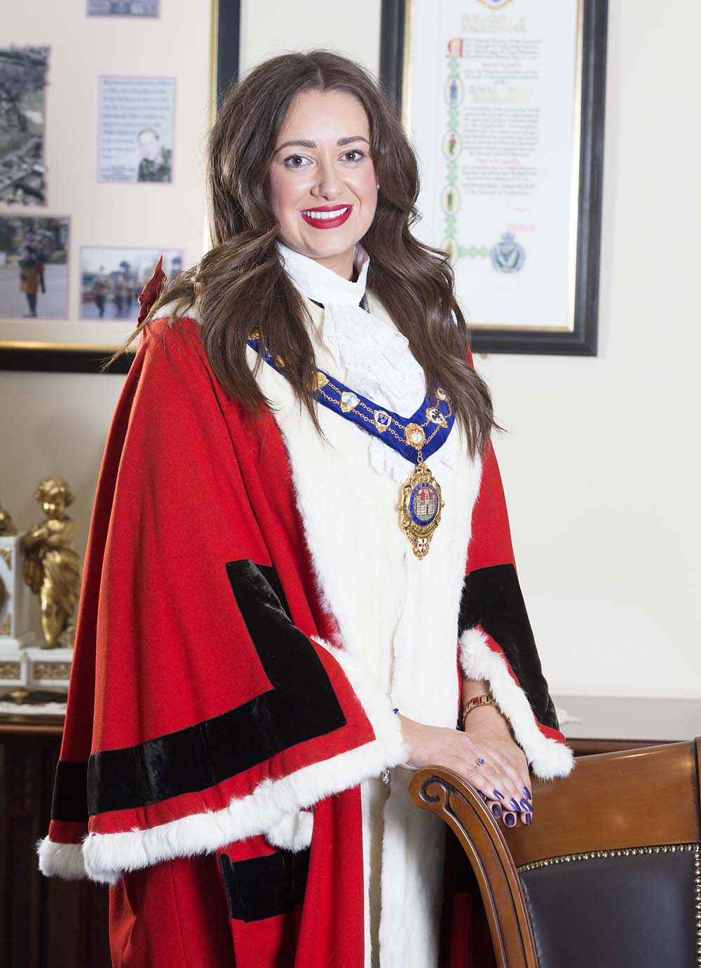 Mayor Cllr Lindsay Millar
