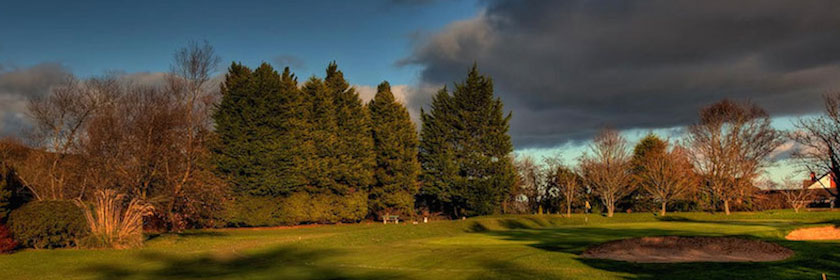 Photograph of the course at Greenisland Golf Club