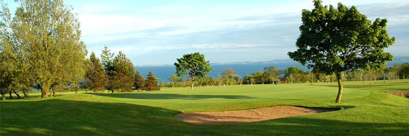 Photograph of the course at Whitehead Golf Club