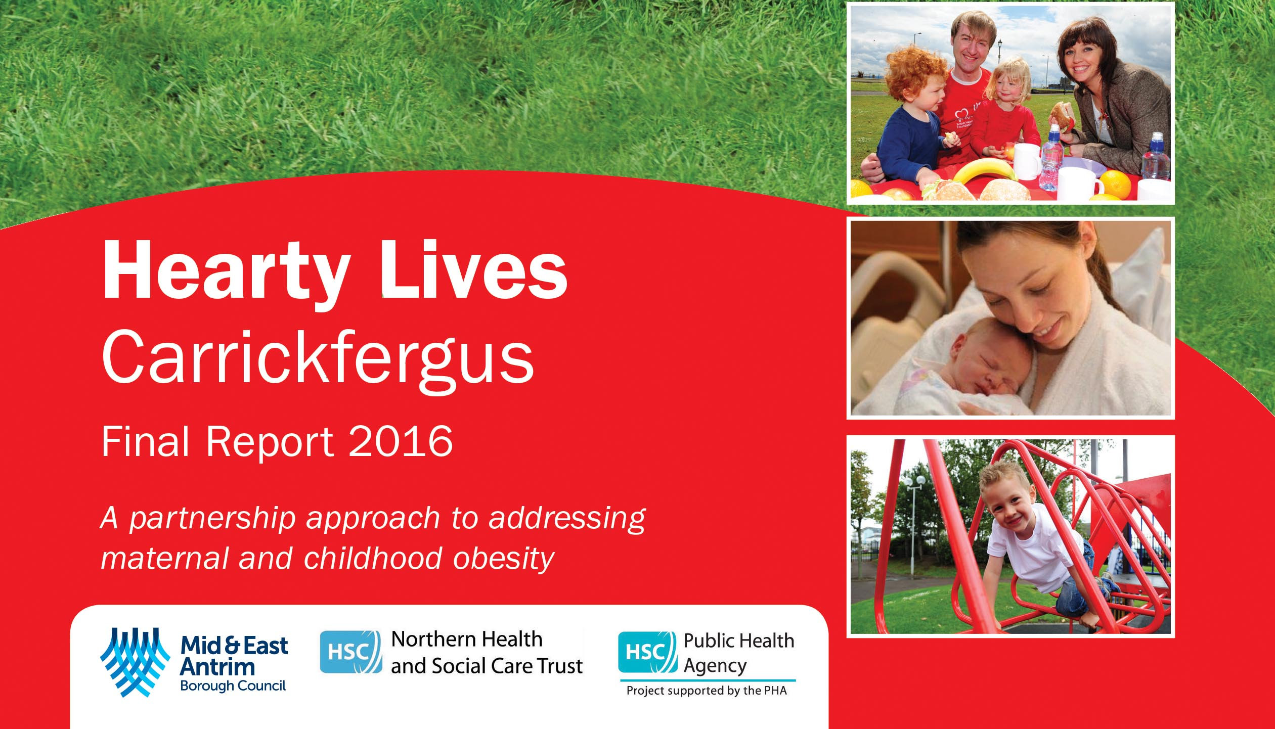 Image of the Hearty Lives Fina Report 2016 coverpage