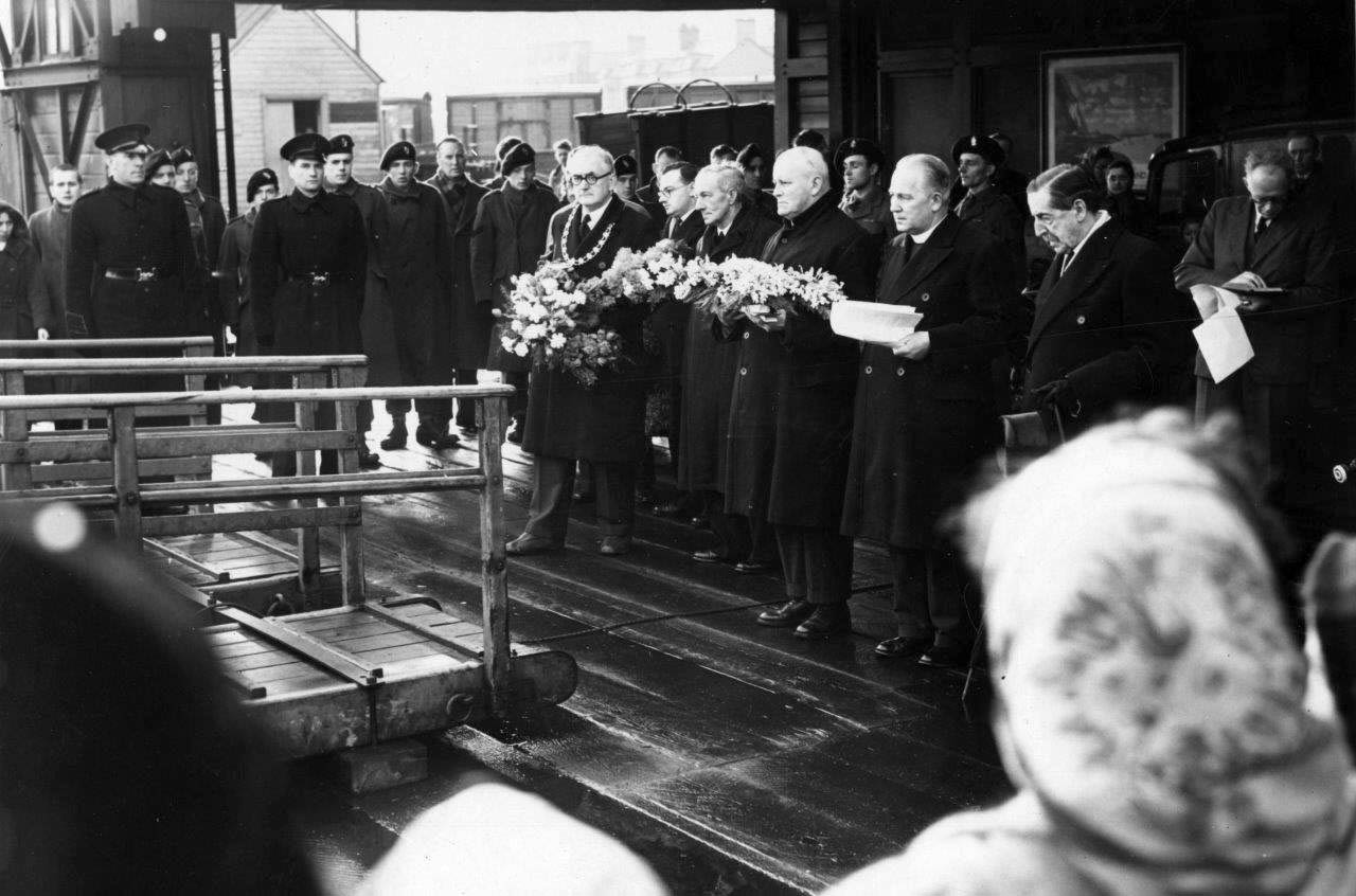 Commemoration of the MV Princess Victoria - 8 February 1953