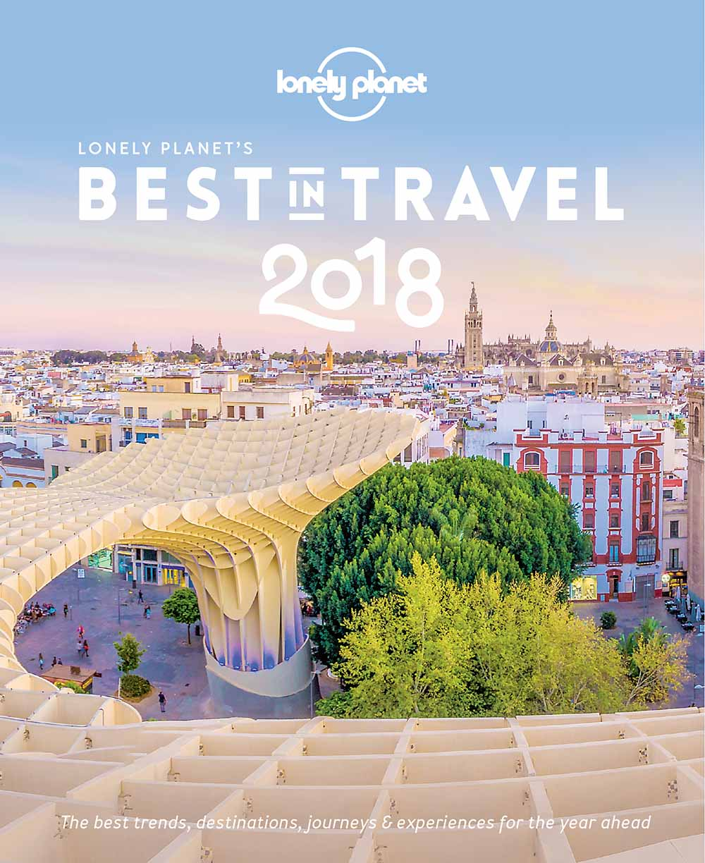 Lonely Planet's Best in Travel 2018 cover