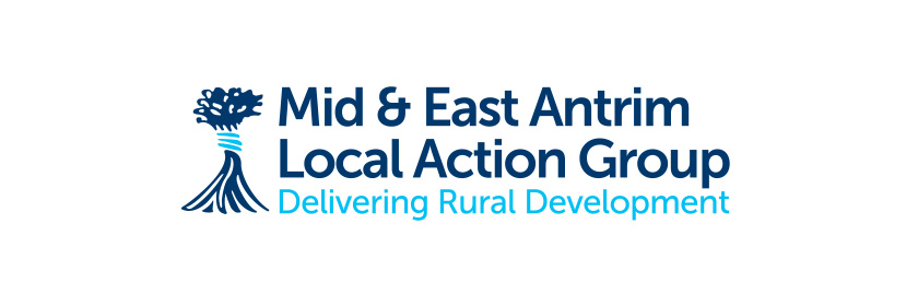 Logo for the Mid and East Antrim Local Action Group