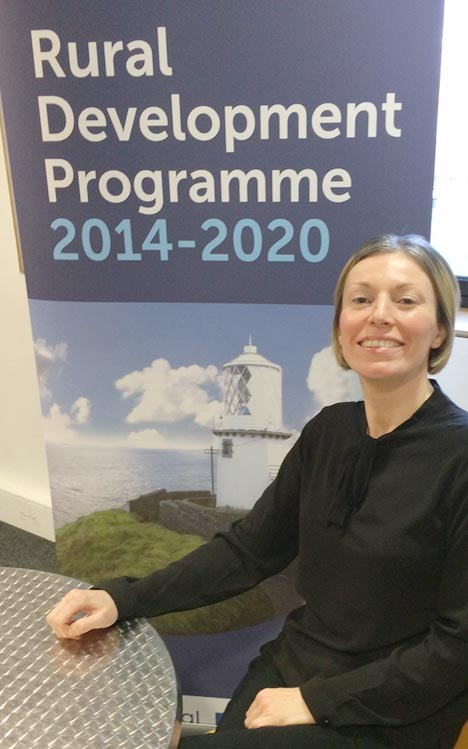 Photograph of Nicola Murray from MEA LAG