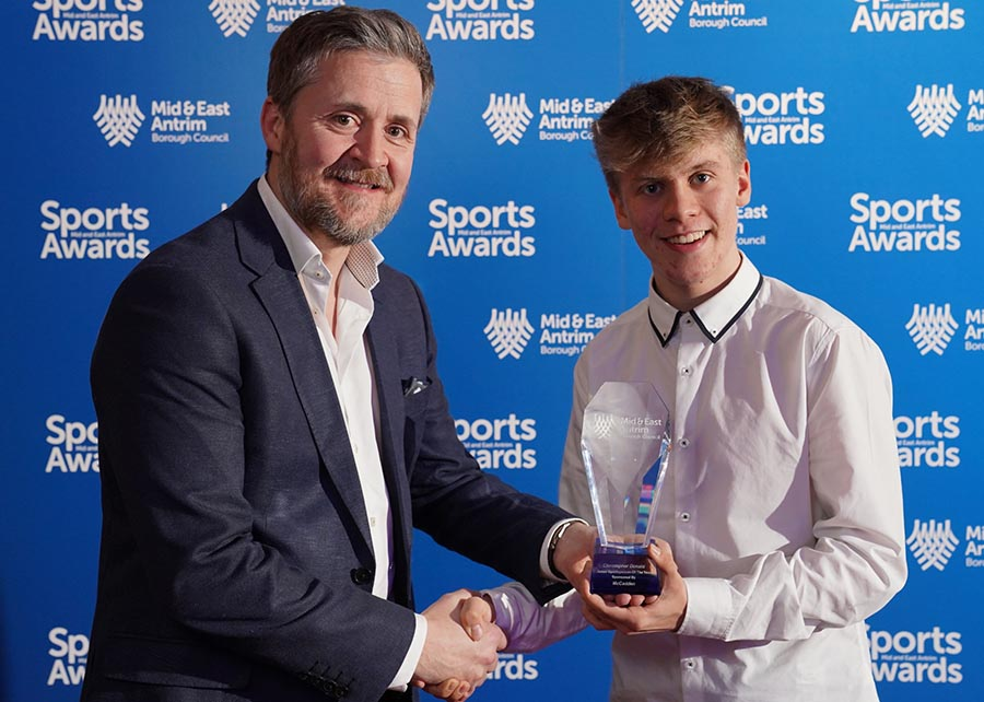 •	Junior Sportsperson of the Year – Christopher Donald – Cycling