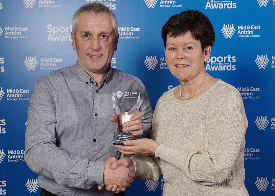 Veteran's Award – Trevor Calderwood – Motocross