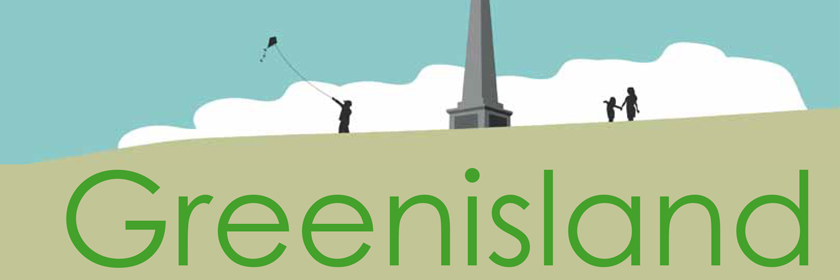 Image from the cover of the Greenisland Development Framework document