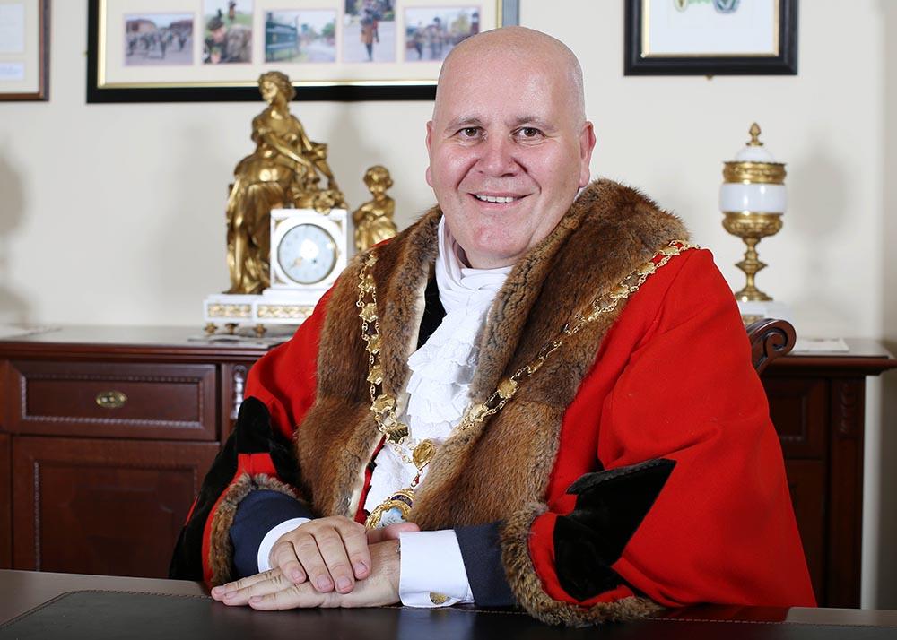 Mayor Councillor Paul Reid