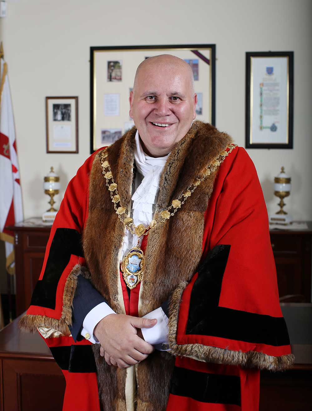 Mayor Paul Reid - 2017 to 2018