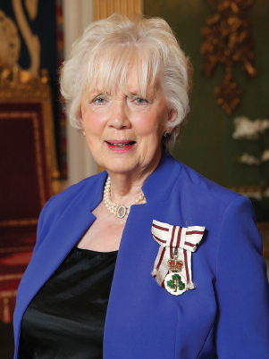 Mrs Joan Christie CVO OBE