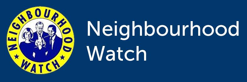 Neighbourhood Watch logo and text