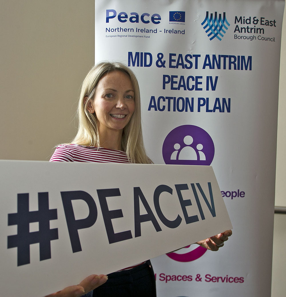 Sarah McLaughlin MEAAP Peace IV Project Officer