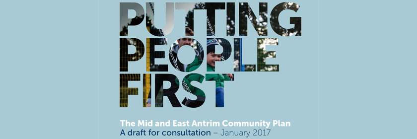 Image from the cover of the Putting People First - draft Community Planning document
