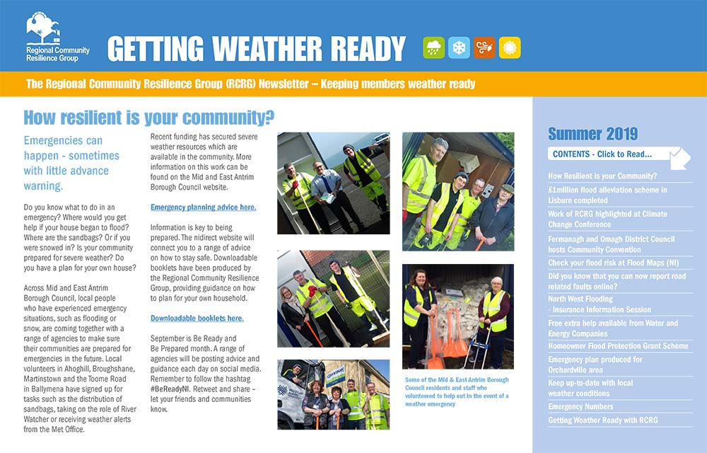 Getting Weather Ready Newsletter