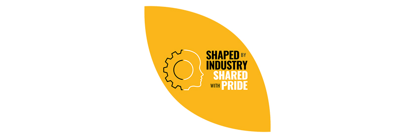 Shaped by Industry logo