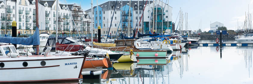 Photograph of Carrickfergus Marina