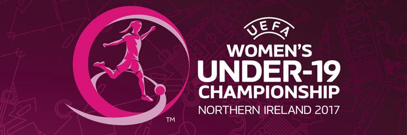 Logo for the UEFA Women's Under-19 Championship