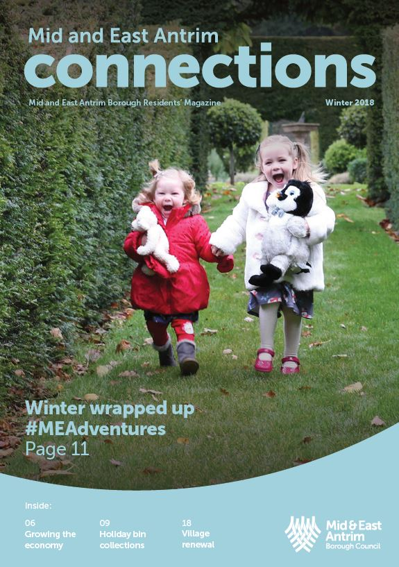Cover of the Winter 2018 edition of the Connections magazine