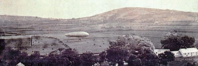 Image of an airship at Bentra