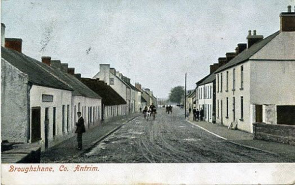 Broughshane village in the late 19th Century (Mid-Antrim Museum Collection/Mid and East Antrim Borough Council)