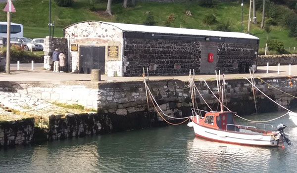 The Kelp Store at Carnlough Harbour