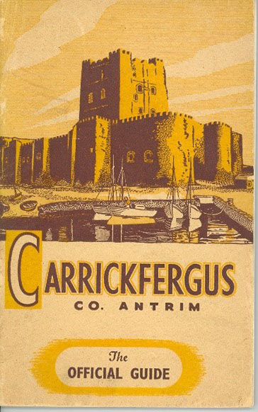 Photograph of Carrickfergus Town Tourist Brochure