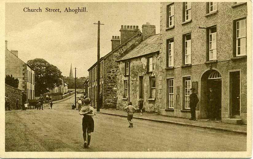 Photograph of Church Street Ahogill