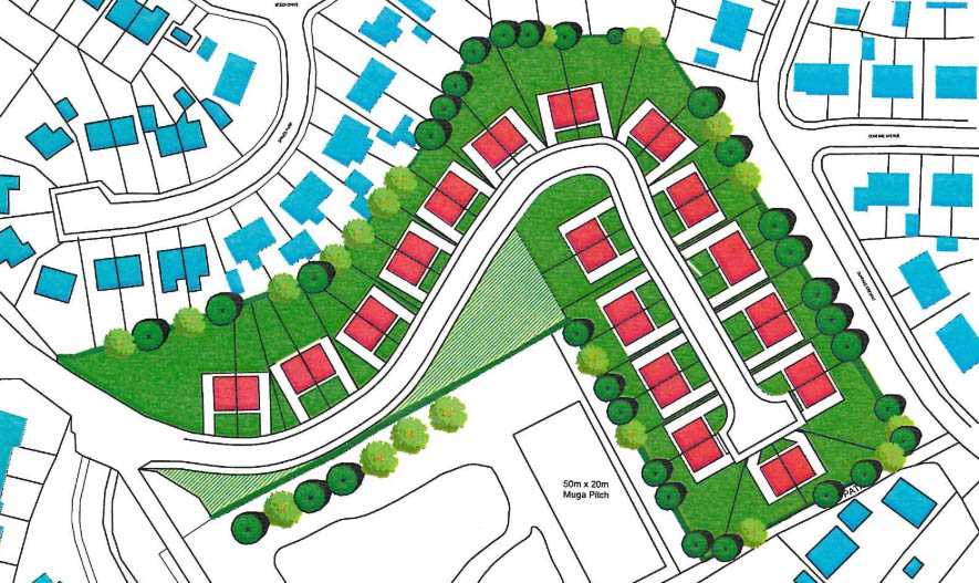 Image from Dunfane Masterplan