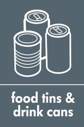 Food tins and drink cans icon