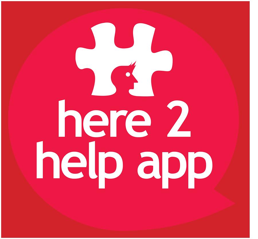 #Here2Help logo