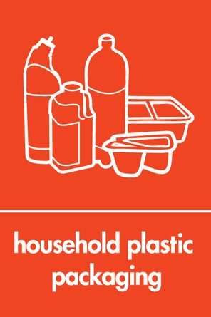 Household plastic packaging icon