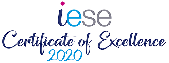 iESE Certificate of Excellence for 2020