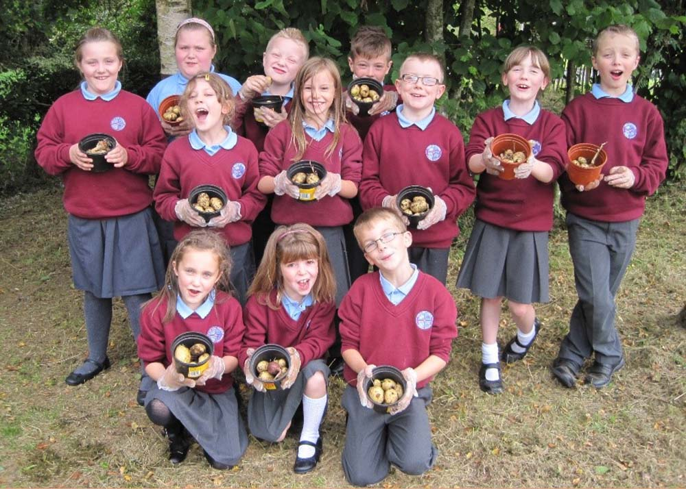 Kells and Connor Primary school are the winners in the Best School Gardening Project