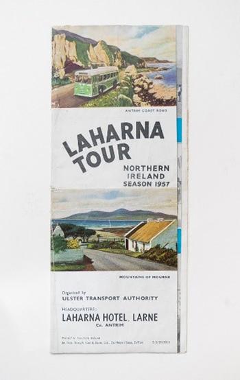 Promotional leaflet - 'Northern Ireland.  Laharna Tour, Season 1957
