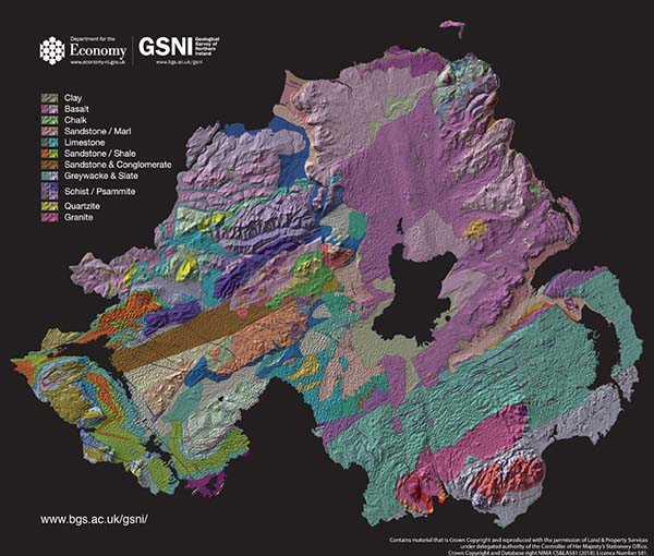 Geological Survey for Northern Ireland